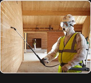 Профессиональная защита древесины от огня